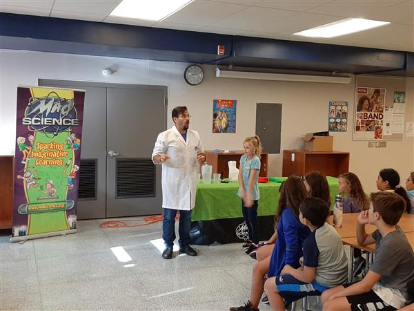 Mad Science Demonstrations Took Place At WRIS Today. <small>Click for more images.</small><hr>