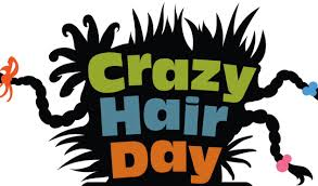 <center>WRIS Students & Staff Raise $278 for Benjamin's Hope 4 The Future with A CRAZY Hair Day.<br><small>Click for images.</small><hr></center>