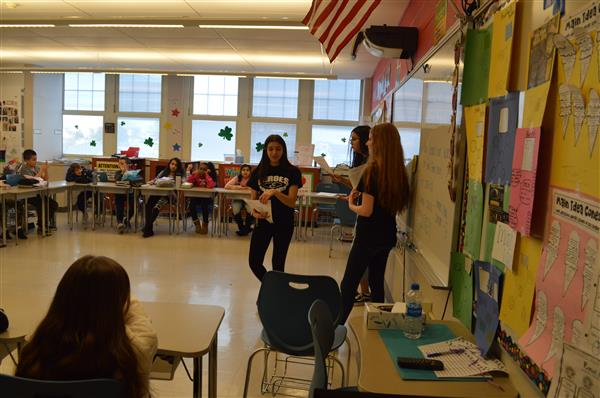 <center>Neutral Zone Visits WRIS</center><br> Thank you to our Wood-Ridge High School students for acting as peers and providing leadership to our 5th and 6th graders.<br><small><center>Click for images.</center></small><hr>