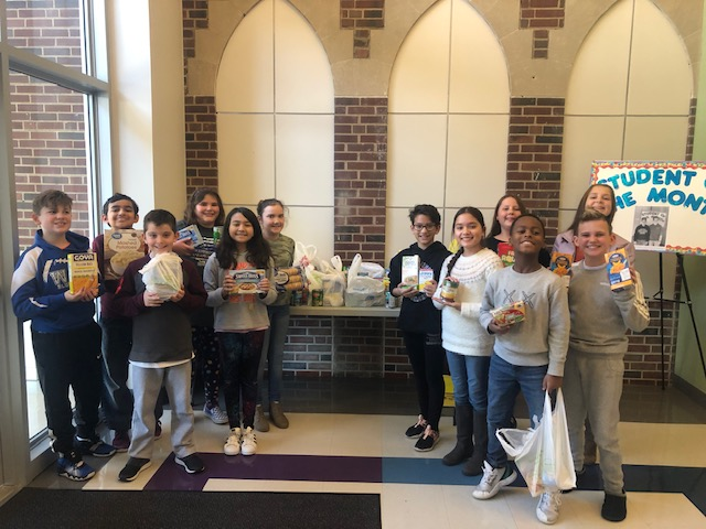 WRIS and HS Student Council Food Drive is a resounding success.  Donations were brought next door to the Food Kitchen at Assumption Church.  Thank you all who donated, helping to make Thanksgiving a happy day for families in need.<hr>