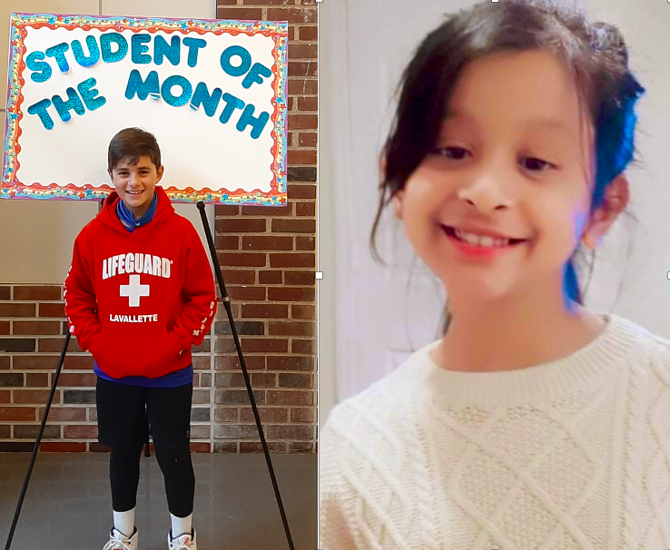 <center>Congratulations to our October Students of the Month, Dylan Milano and Syeda Rizvi.<br><center><HR>