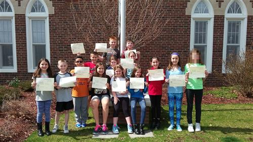 Grade 4 Honor Roll Students