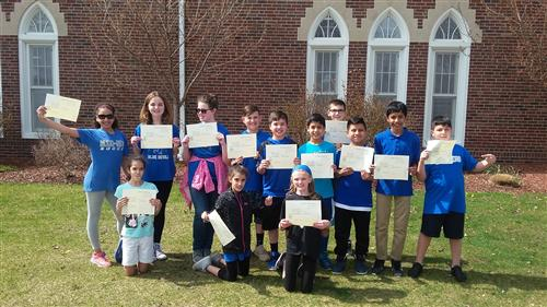 Grade 5 Honor Roll Students